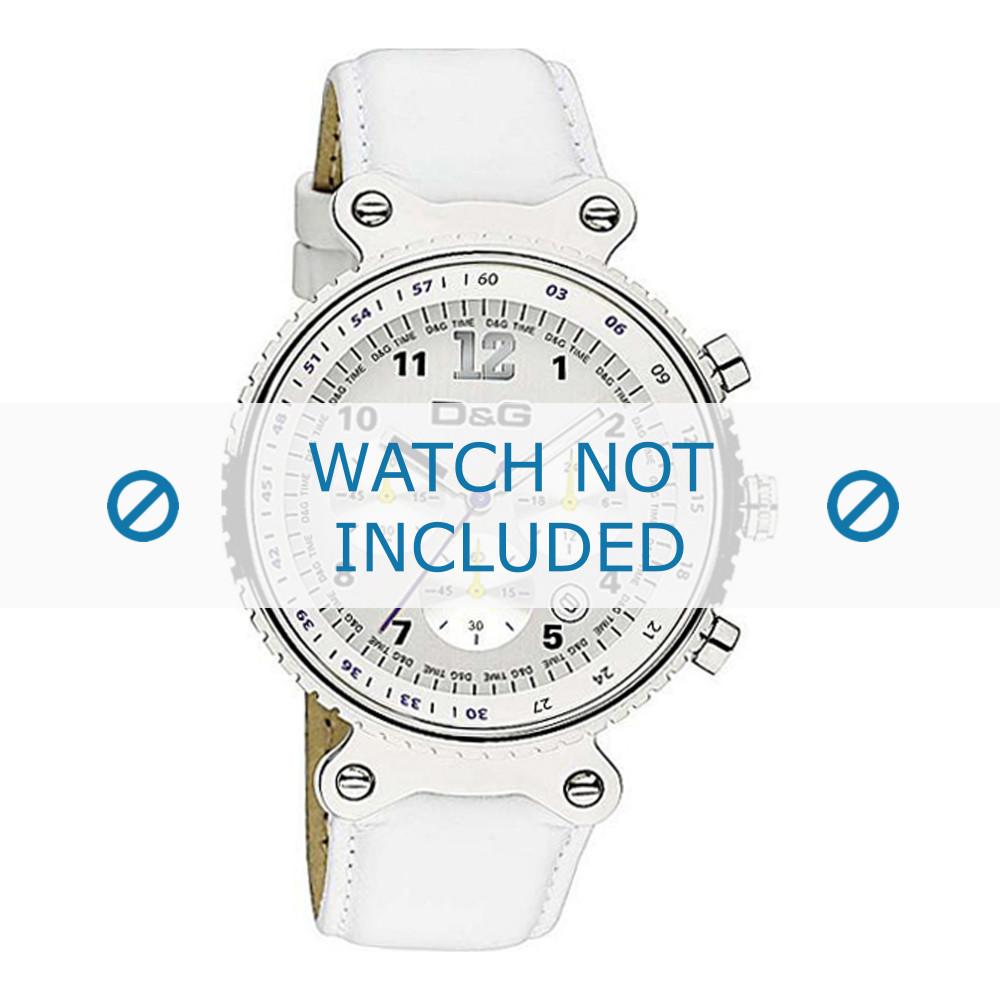 Cuero Reloj Gabbana Blanco Ahora Dolceamp; Dw0305 Correa De Ordenar HEI29WDeY