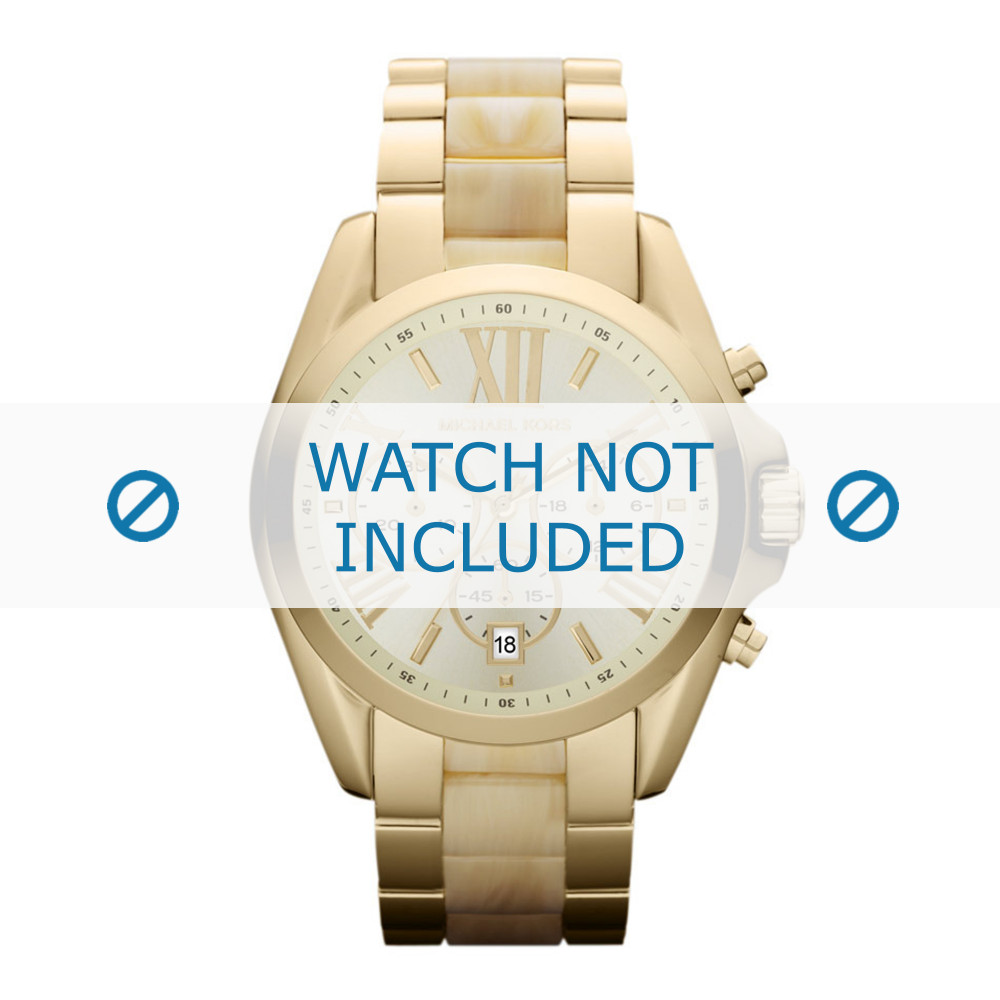 Mk5722 Para Reloj Acero Michael Correa 22mm Kors R5L34Ajq