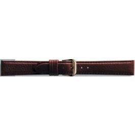 Correa de reloj Universal 054R.02.18 Cuero Marrón 18mm