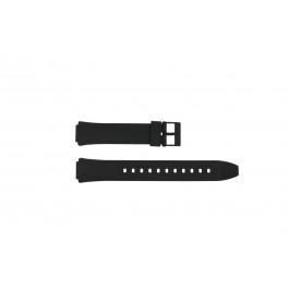 Correa de reloj Casio AW-90H-2BV / AW-90H Plástico Negro 15mm