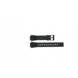 Correa de reloj Casio MRW-200H Plástico Negro 18mm