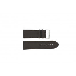 Correa de reloj Universal 306R.01 Cuero Negro 30mm