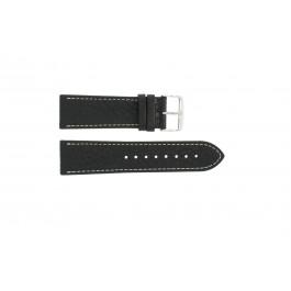 Correa de reloj Condor 307R.01 Cuero Negro 18mm