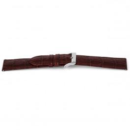 Correa de reloj Universal D340 Cuero Marrón 14mm
