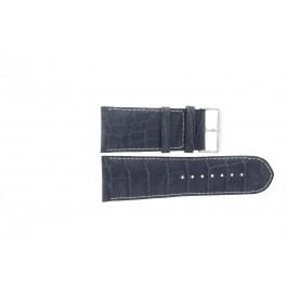 Correa de reloj Universal 61324B.50.32 Cuero Azul 32mm