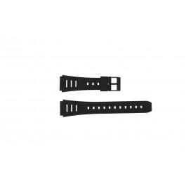 Casio correa de reloj 71603087 Plástico Negro 19mm