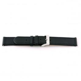 Correa de reloj Universal G100 Cuero Negro 20mm