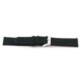 Correa de reloj Universal 800R.01 Cuero Negro 20mm
