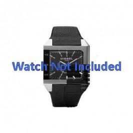 Correa de reloj Diesel DZ1397 Cuero Negro 26mm