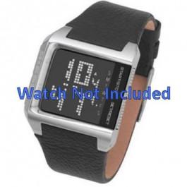 Correa de reloj Diesel DZ7094 Cuero Negro 24mm