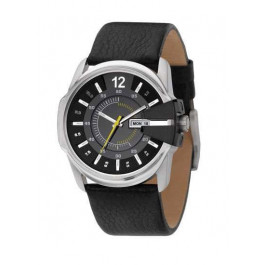 Correa de reloj Diesel DZ1295 Cuero Negro 27mm
