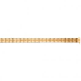 Correa de reloj Universal FEB603 Acero Chapado en oro 8-10mm