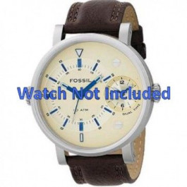 Correa de reloj Fossil FS4338 Cuero Marrón 24mm