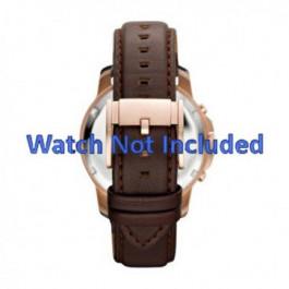 Correa de reloj Fossil FS4648 Cuero Marrón 22mm