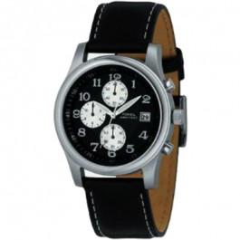 Correa de reloj Fossil FS2898 Cuero Negro 22mm