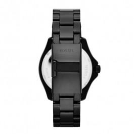 Correa de reloj Fossil AM4522 Acero Negro 20mm