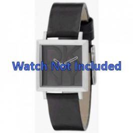 Correa de reloj DKNY NY3419 Cuero Negro