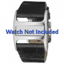 Correa de reloj DKNY NY4179 Cuero Negro 29mm