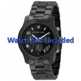 Michael Kors correa de reloj MK5162 Cerámica Negro 22mm