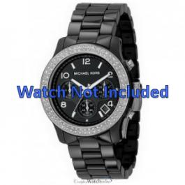 Michael Kors correa de reloj MK5190 Cerámica Negro 22mm
