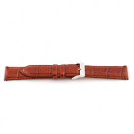 Correa de reloj Universal E335 Cuero Marrón 16mm