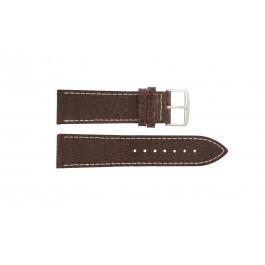 Correa de reloj Universal I320 Cuero Marrón 24mm