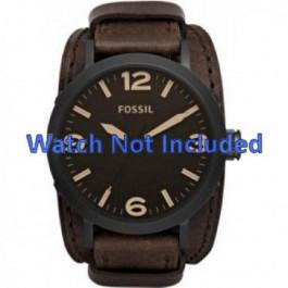 Correa de reloj Fossil JR1365 Cuero Marrón 25mm
