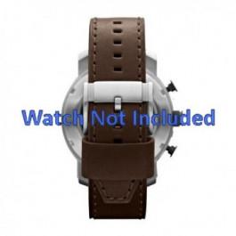 Correa de reloj Fossil JR1390 Cuero Marrón 24mm
