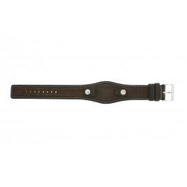 Correa de reloj Fossil JR8130 Cuero Marrón 10mm