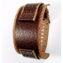 Correa de reloj Fossil JR9040 Cuero Marrón 22mm