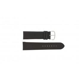 Correa de reloj Universal E.5316 Cuero Marrón oscuro 20mm