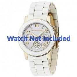 Correa de reloj Michael Kors MK5145 Acero Blanco 20mm