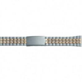 Correa de reloj Universal DD100 Acero Bicolor 20mm