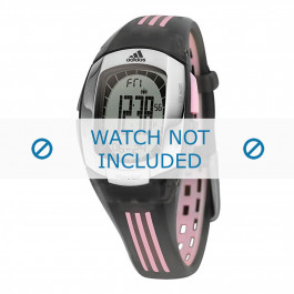 Correa de reloj Adidas ADP1638 Caucho Negro 19mm