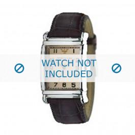 Correa de reloj Armani AR0234 / AR0402 Cuero Marrón 26mm