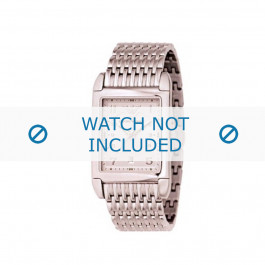 Armani correa de reloj AR-0273 Acero Dorado (Rosé) 22mm