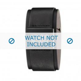 Armani correa de reloj AR-7000 Piel Negro