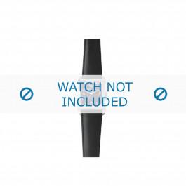 Armani correa de reloj AR-5600 Piel Negro 23mm