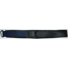 Correa de reloj Condor KLITTENBAND 412R Velcro Azul 20mm