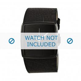 Correa de reloj Armani Exchange AX6002 Cuero Negro 18mm