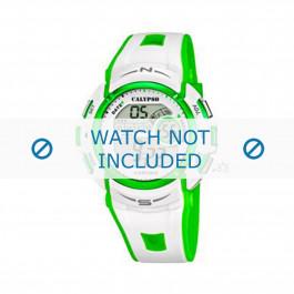 Calypso correa de reloj K5610.4 Caucho / plástico Blanco