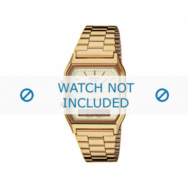 Casio correa de reloj  AQ-230GA-9DMQYES / AQ-230GA-9DMQY Acero Dorado 18mm