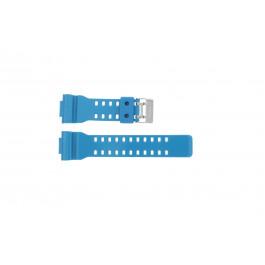 Correa de reloj Casio GD-110-2W / 10427892 Silicona Turquesa 16mm