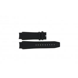 Correa de reloj Dolce & Gabbana 3719770097 Cuero Negro 20mm