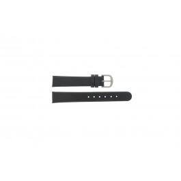 Correa de reloj Danish Design ADDBL16 / IV14Q553 Cuero Negro 16mm