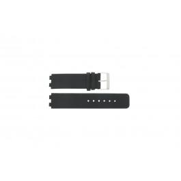 Correa de reloj Danish Design IQ13Q523 / IQ12Q523 Cuero Negro 16mm