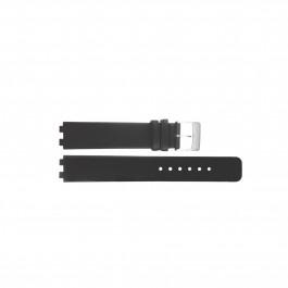 Correa de reloj Danish Design IV12Q523 / IV13Q523 Cuero Negro 12mm