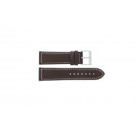 Correa de reloj Davis BB0453 Cuero Marrón 24mm
