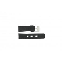 Correa de reloj Diesel DZ1207 Cuero Negro 26mm