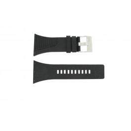 Correa de reloj Diesel DZ7184 / DZ7180 Cuero Negro 25mm